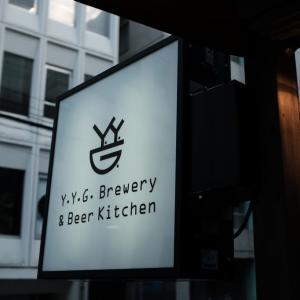 東京での仕事を終えて。。。Y.Y.G.ブリュワリーのテラスで最高の一杯