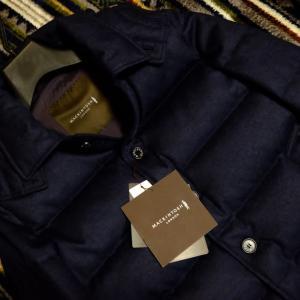 季節外れのウールダウンジャケット購入 MACKINTOSH LONDON ELINGTON(マッキントッシュ ロンドン エリントン)