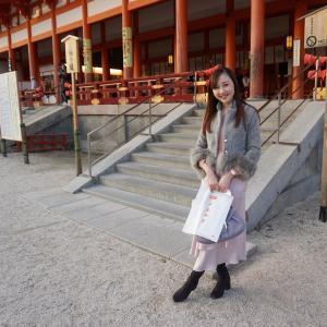 今年は大阪と京都で初詣☆