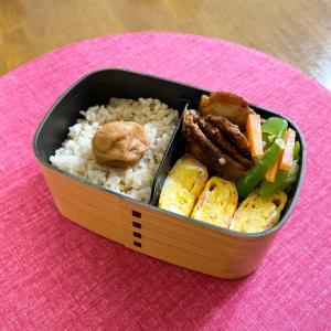 焼肉弁当*玄米のプチプチ食感が好き♡