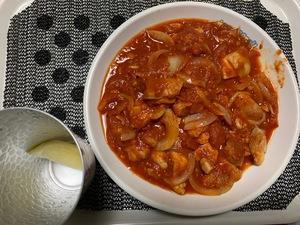 男飯 ~チキンのトマト煮~
