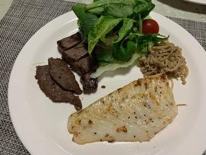 男飯 ~アブラカレイのバター焼き&牛肉~