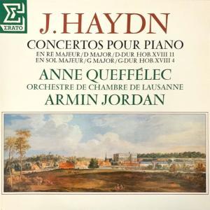 アンヌ・ケフェレックのピアノ協奏曲XVIII:4(ハイドン)