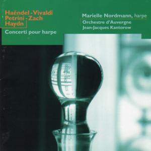 ミリエル・ノルドマンのハープによるオルガン協奏曲(ハイドン)