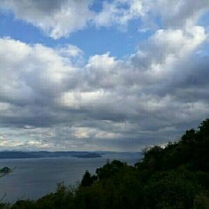 風の見える丘公園にて