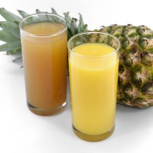 栄養の偏りをフルーツジュース等で補うこと