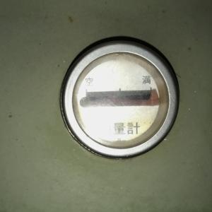 灯油満タン そしてガス暖房器壊れる 泣