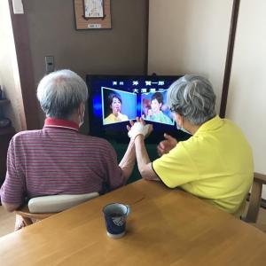 80歳の新人さんTV取材受ける!