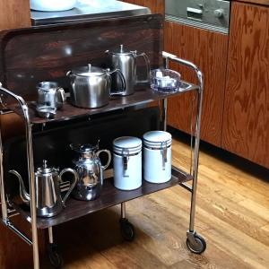 ヴィンテージのキッチンワゴンをご購入のお客様が写真を送ってくれました
