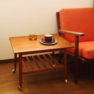 とにかく可愛いです。北欧ヴィンテージ・サイドテーブル