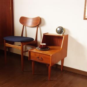 もしかして長電話台*北欧ヴィンテージのサイドテーブル