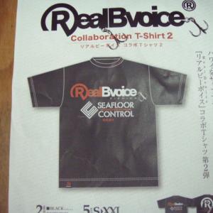 RealBvoice コラボTシャツ 入荷案内