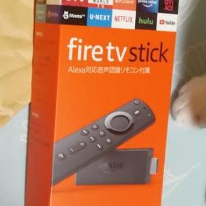 父の日フライング!!!Fire TV Stick届いたー