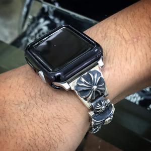 今流行のアップルウォッチにクロムハーツの時計バンドをカスタマイズしてみました!