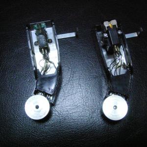 ELAC Miracord 10H 専用ヘッドシェル」のリード線交換