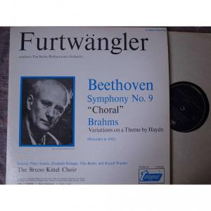 フルトヴェングラー:ベートーヴェン交響曲第9番ニ短調「合唱」の海外盤LP入手
