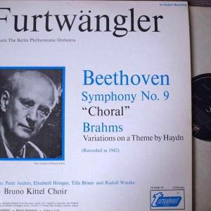 年の瀬に「1942年 フルトヴェングラー:ベートーヴェン交響曲第9番ニ短調「合唱」を聴く