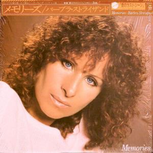 Barbra StreisandのLP「Memories」を聴く