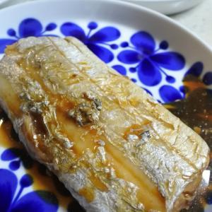 【太刀魚の煮付けの夕食♡と、安定の、、】