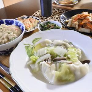 カニ玉丼の夕食♡と、ガチャガチャ