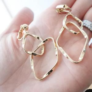 GUで買ったイヤリング♡お安~い♪