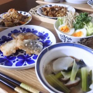 生姜香る鱈の竜田揚げの夕食♡と、15時半から、、