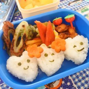 クオリティーの低い幼稚園弁当♡
