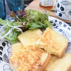 フレンチトーストの朝ごはん♡と、ビシャビシャ