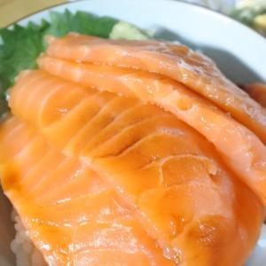 エンペラーサーモン丼♡と、お気に入りのバームクーヘンありますか?