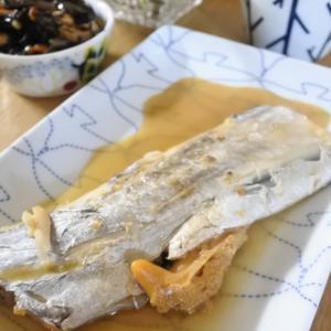 太刀魚の煮付けの夕食♡と、お勧めのテレビドラマありますか?