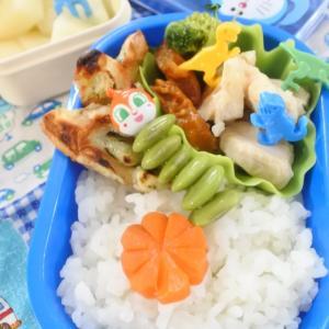 鶏むねが柔らかい幼稚園弁当♡