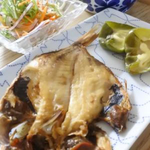 金目鯛の開きの夕食♡と年少さんの参観日