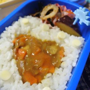 チキンカレーの幼稚園弁当