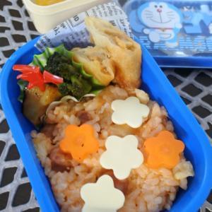 ケチャップライスの幼稚園弁当♡