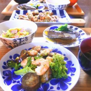 海老のオイスターソース炒めの夕食♡と、聞きたい!!