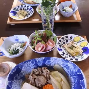 牛肉のすき煮の夕食♡と、夏休み