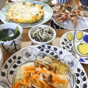 鱈の甘酢あんかけの夕食♡と、趣味で・・