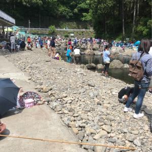 家族サービス管理釣り場