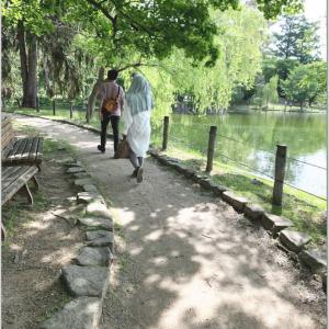 常磐公園をお散歩