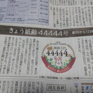 44444号達成