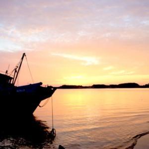 威海の夕暮れ