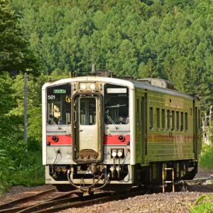 JR北海道キハ54 (留萌本線峠下駅)