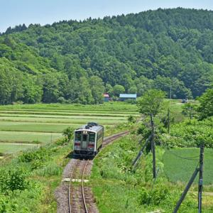 JR北海道キハ54 (留萌本線藤山~幌糠間)