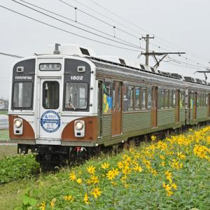 豊橋鉄道1800形(やぐま台駅)その2