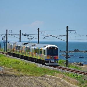 JR東日本485系(快速きらきらうえつ・村上~間島間)