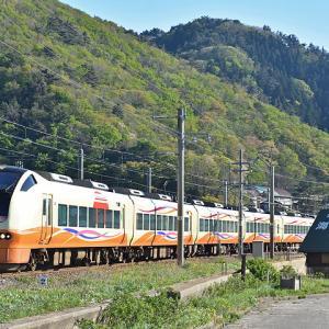 JR東日本E653系(特急いなほ・越後寒川~勝木間)