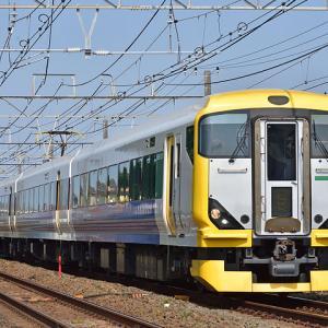 JR東日本E257系(藤沢~辻堂間)