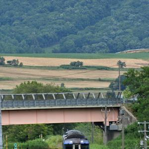 JR北海道キハ183系(快速ふらの・びえい号/富良野駅)
