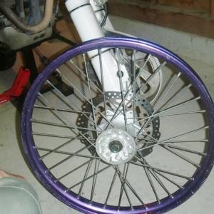 タイヤ交換とゴーグルの補修