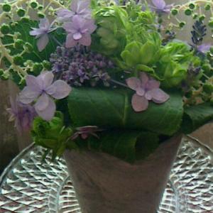 季節の花材で体験レッスン(o^o^o)